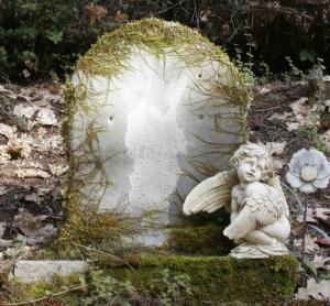 mossy-headstone